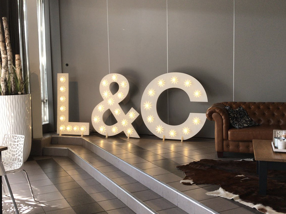 Lichtletters in Vught